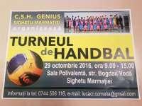 SIGHET - Turneu de handbal la Sala Polivalentă