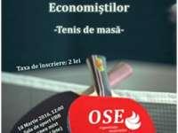 SIGHET - Turneu de Tenis de masă organizat de Studenții economiști aparținând UBB Sighet