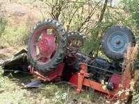 SIGHET: Un bărbat a decedat strivit de tractor