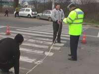 SIGHET: Un bărbat a fost accidentat pe trecerea pentru pietoni