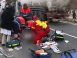 SIGHET: Un pieton a fost lovit de un camion