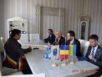 SIGHET - Vizită la nivel înalt al Ambasadorului Ucrainei la București, domnul Yevhen Levytskyi