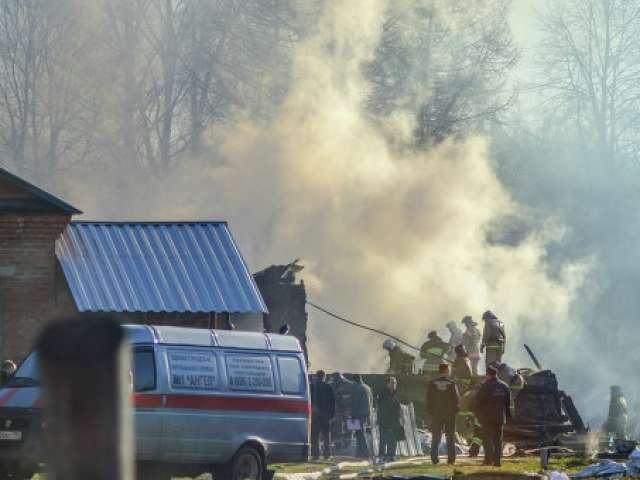 Un incendiu izbugnit la o clinica psihiatrica langa Moscova a ucis 38 de persoane