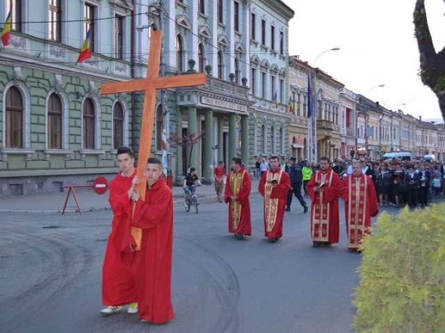 Drumul Crucii, la Sighetu Marmației
