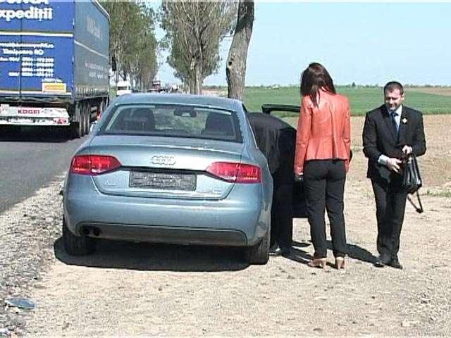 ULTIMA ORĂ – ACCIDENT Maşina în care se afla Adjunctul Politiei de Frontiera Sighet, implicată într-un accident pe DN1C