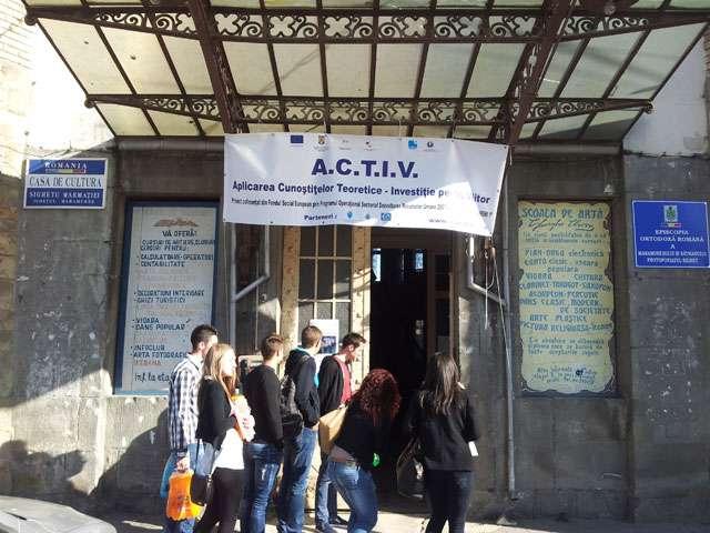 Foto + Video: Concursul Firmelor de exerciţiu din cadrul proiectului ACTIV