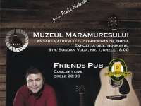 Concert live extraordinar - Marius Matache (folk)