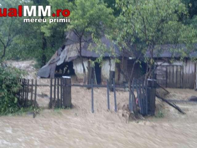 Urmările inundațiilor de ieri din județul Maramureș