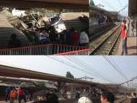 Un tren a deraiat în apropiere de Paris. Echipele de urgenţă au decretat COD ROŞU