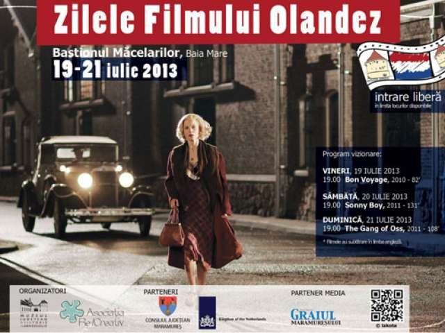 Pelicule realizate în Ţara Lalelelor vor putea fi vizionate în Baia Mare, la Zilele Filmului Olandez