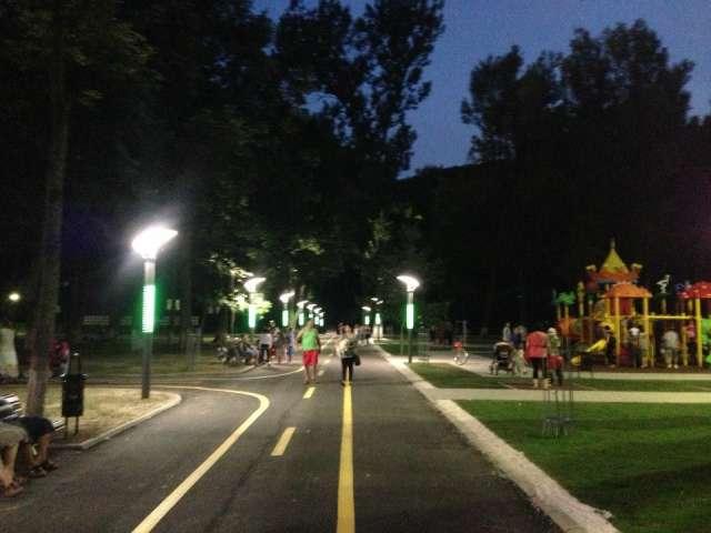 În acest weekend s-au inaugurat Aleea pietonală Coposu și Locul de joacă pentru copii de la Grădina Morii