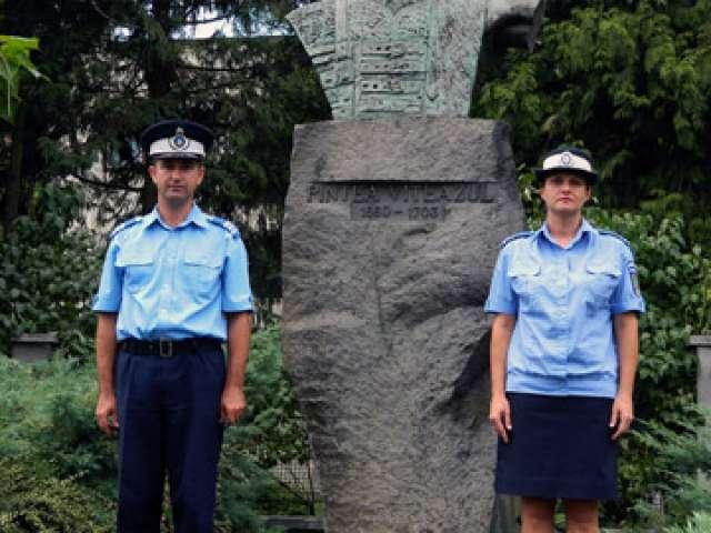 Jandarmii maramureșeni l-au comemorat pe PINTEA VITEAZUL în cadru festiv