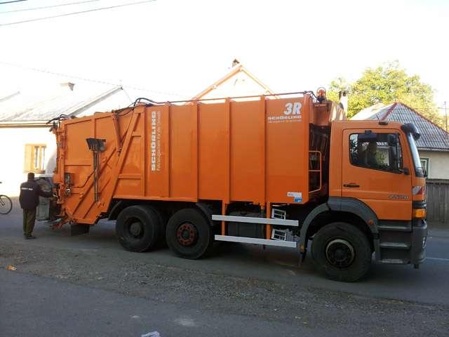 FOTO - Firma Herodot a achiziționat o autospecială de mare capacitate pentru transport gunoi
