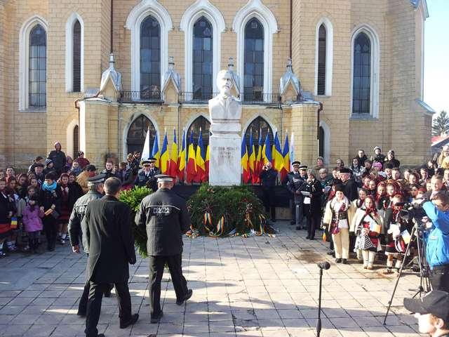 GALERIE FOTO - Ziua Națională a fost serbată și la Sighet