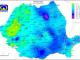Temperaturi resimțite de MINUS 50 de grade Celsius în România. Vezi HARTA TEMPERATURILOR