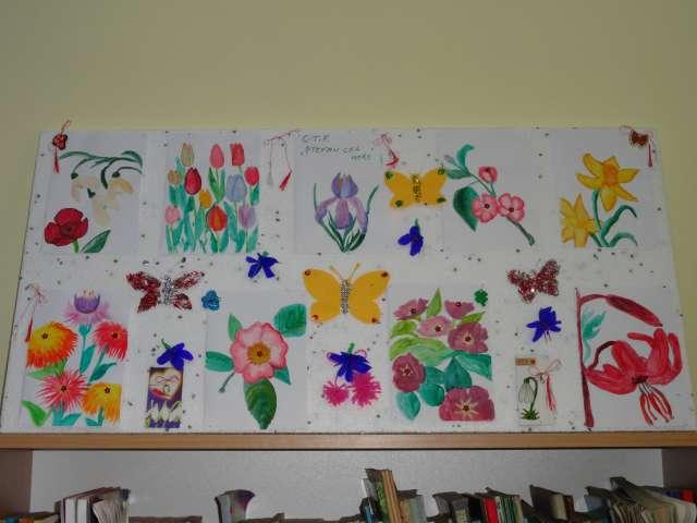 """Acțiune la Biblioteca Municipală: """"Un mărțișor din sufletul meu - o primăvară în inima ta"""""""