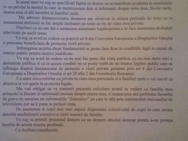 Scrisoare EMOŢIONANTĂ din închisoare, scrisă de Gigi Becali