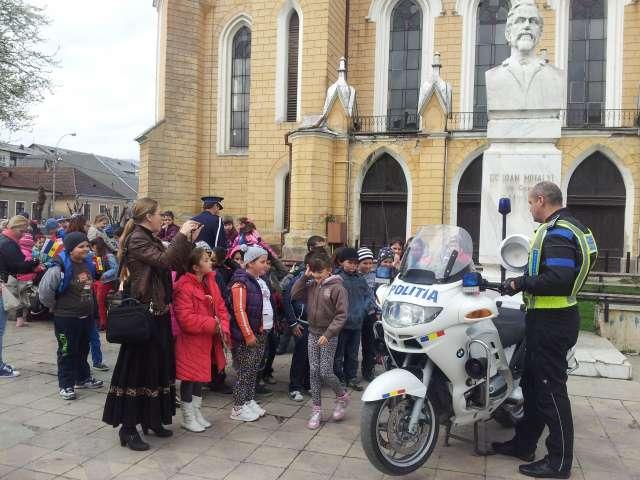 GALERIE FOTO - Ziua Poliției Române, sărbătorită și la Sighet
