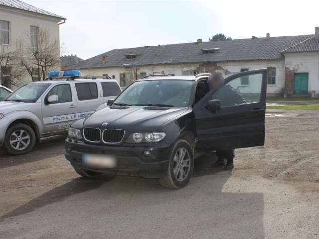 FURT: BMW declarat furat din Germania, descoperit în Sighet