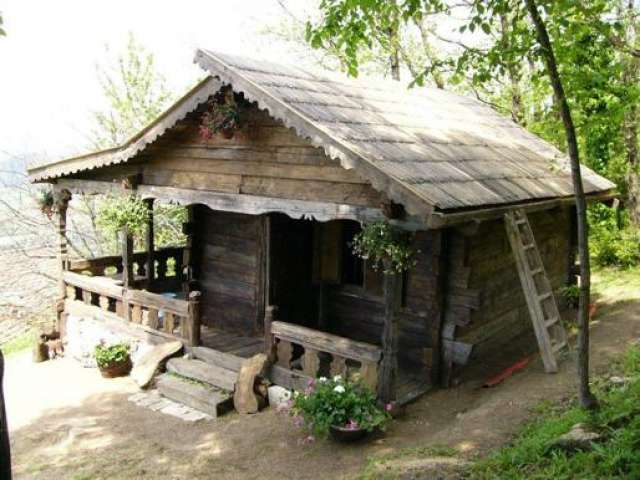 Galerie foto case fabuloase construite din lemn vechi de for Foto case americane
