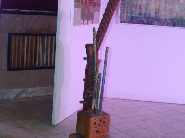 """FOTO: """"Lunea Artelor"""" - Expoziţie de artă plastică semnată de Ioan Muntean, profesor la Colegiul Național """"Dragoș Vodă"""""""