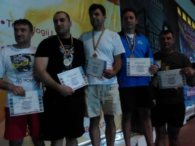 Jandarmul maramureșean Silaghi Florin a obținut LOCUL  I  la Campionatul de înot al M.A.I.
