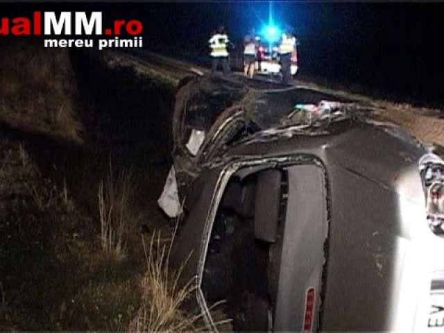 VIDEO - ACCIDENT MARAMUREȘ: Un șofer beat criță a băgat în spital cinci persoane