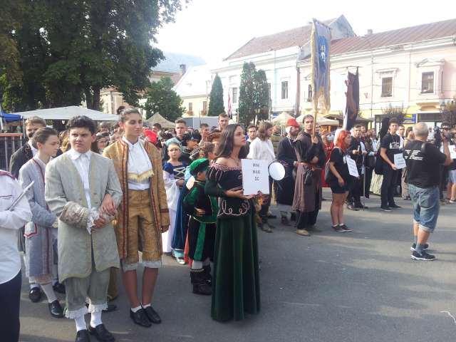 FOTO - Prima zi a Festivalului medieval, un real succes