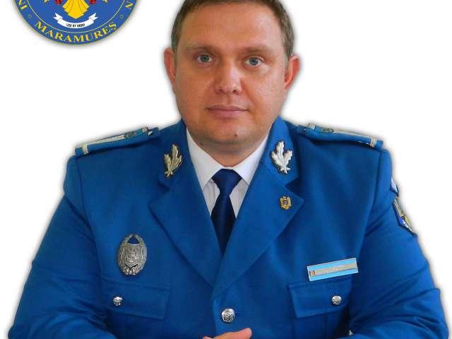 Inspectoratul de Jandarmi Judeţean Maramureş are un nou prim adjunct: maior Haiduc Mihai Dan