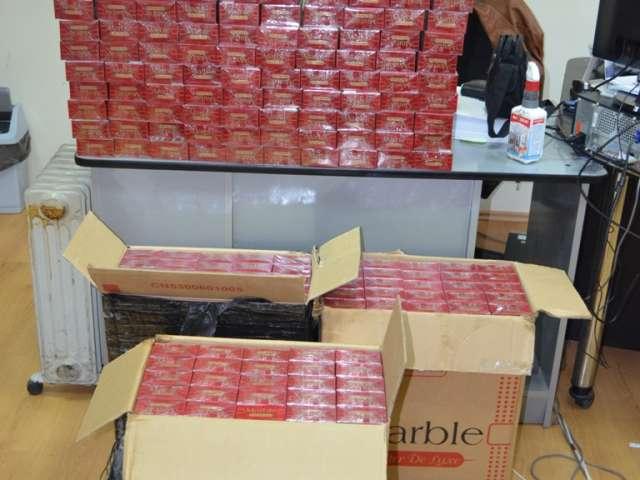 SIGHET - 3.600 de pachete de țigări de contrabandă, confiscate de polițiștii de frontieră