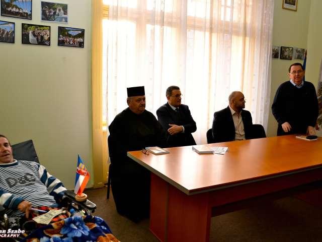 Gheorghe Petreuş şi-a lansat la Sighetu Marmaţiei cartea