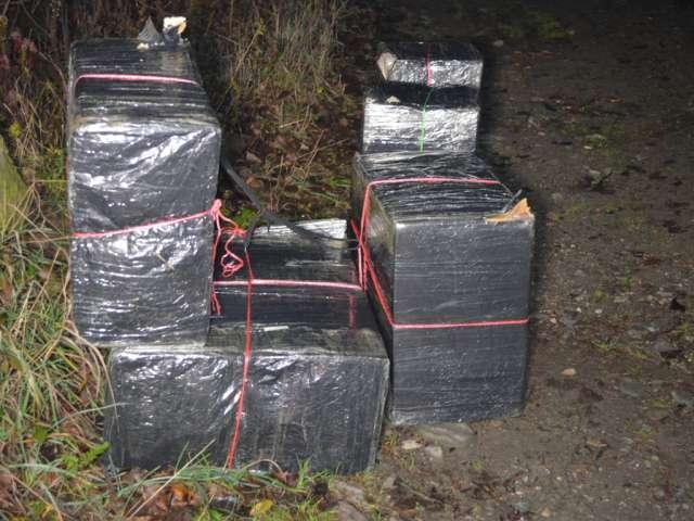MARAMUREȘ: 6.658 colete cu țigări de contrabandă confiscate de polițiștii de frontieră