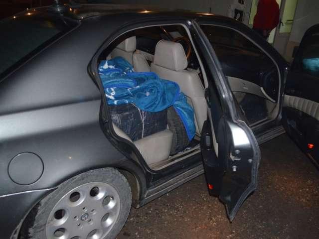 FOTO - 5.000 pachete ţigări confiscate de Polițiștii de frontieră în Sighet