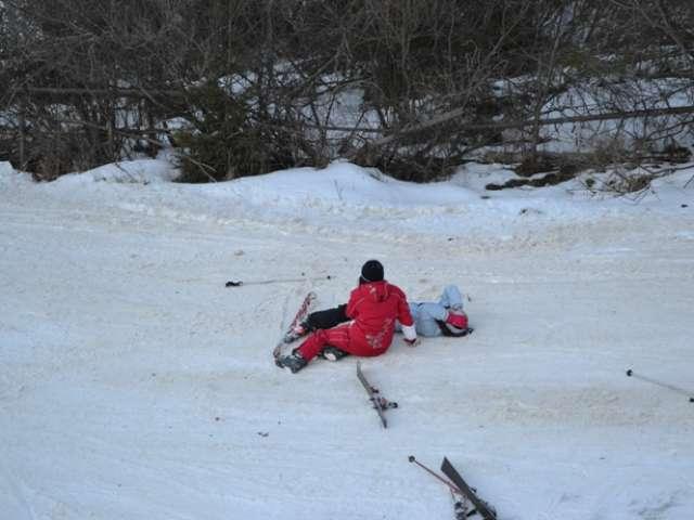 BORŞA: Două fetiţe, accidentate grav pe pârtia de schi