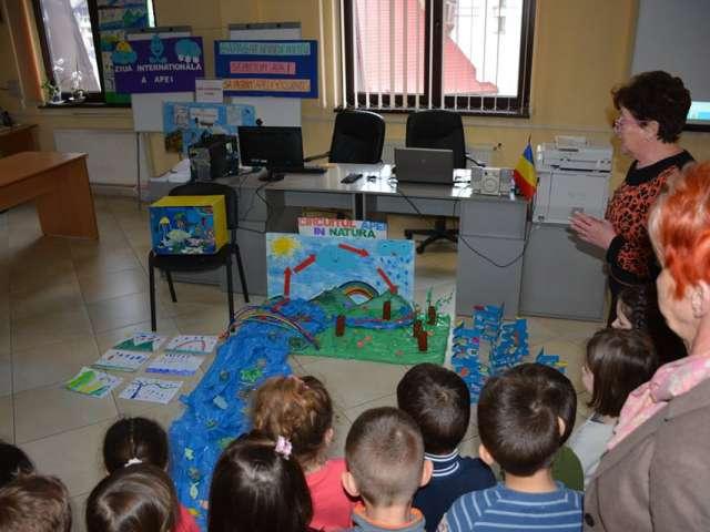"""FOTO - """"Ziua internațională a apei"""" a fost sărbătorită la Borșa"""
