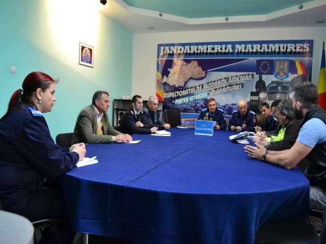 Jandarmii maramureșeni vor asigura măsurile de siguranţă pentru meciul internaţional de rugby din cadrul European Rugby Challenge Cup