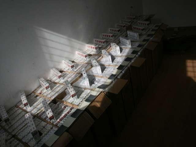 FOTO & VIDEO - Contrabandişti opriţi cu focuri de armă şi  ţigări în valoare de 220.000 lei confiscate