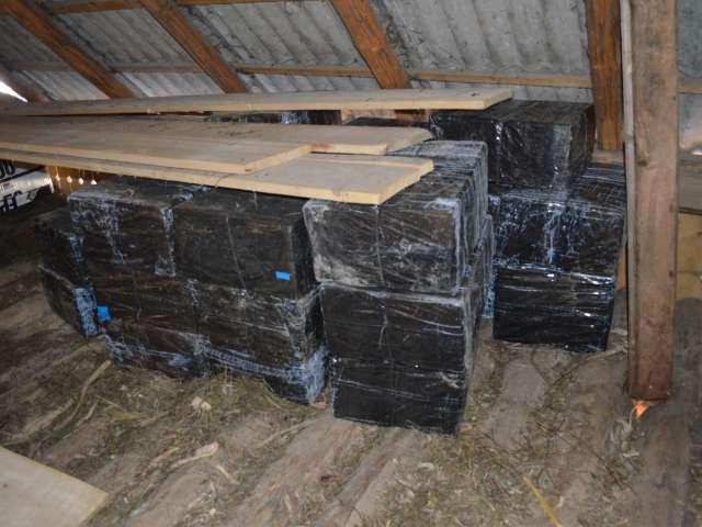 I.T.P.F Sighetu Marmaţiei: 17.840 pachete ţigări confiscate în urma unor acţiuni ale poliţiştilor de frontieră