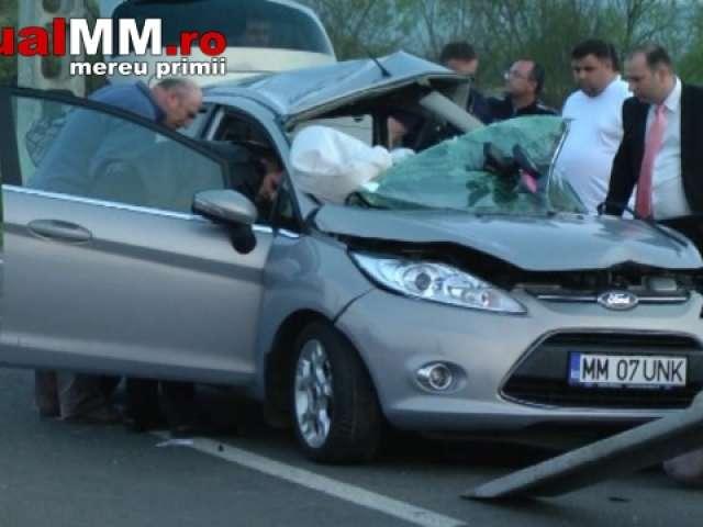 VIDEO - O familie de maramureşeni a murit într-un accident între Negreşti Oaş şi Bixad