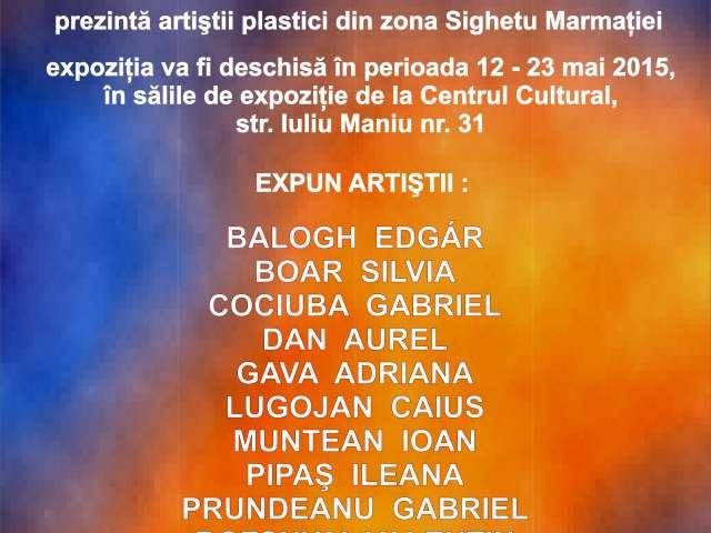 Dublu eveniment artistic la Centrul Cultural Sighetu Marmaţiei