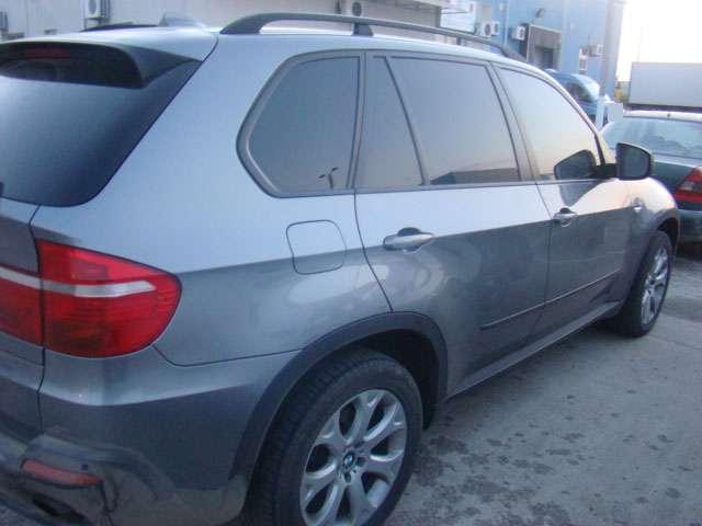 FOTO - BMW X5 furat din Letonia, depistat în P.T.F. Siret