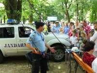 Jandarmeria şi Orăşelul copiilor