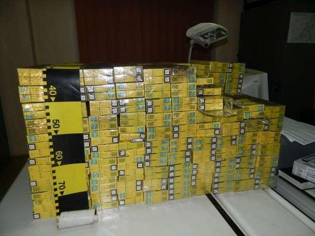 VIȘEU DE SUS - 2.000 pachete cu ţigări de contrabandă confiscate de către poliţişti