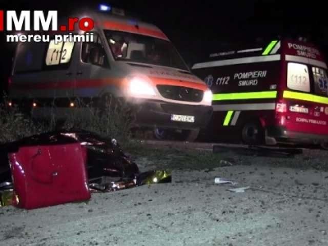 VIDEO - Șofer mort și o maramureșeancă grav rănită într-un teribil accident produs pe DN 1C