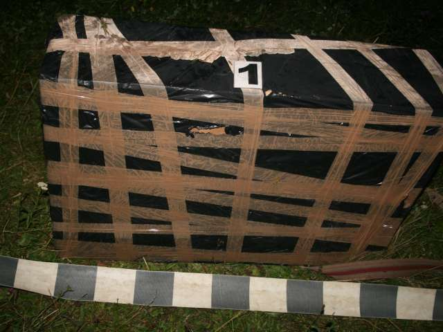 FOTO - Țigări de contrabandă în valoare de 200.000 lei confiscate de către polițiștii de frontieră