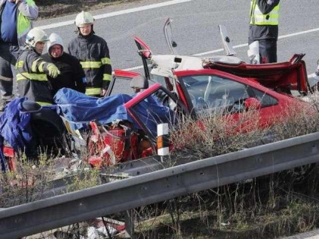 VIDEO: Patru maramureșeni morți și trei răniți într-un accident rutier în Cehia