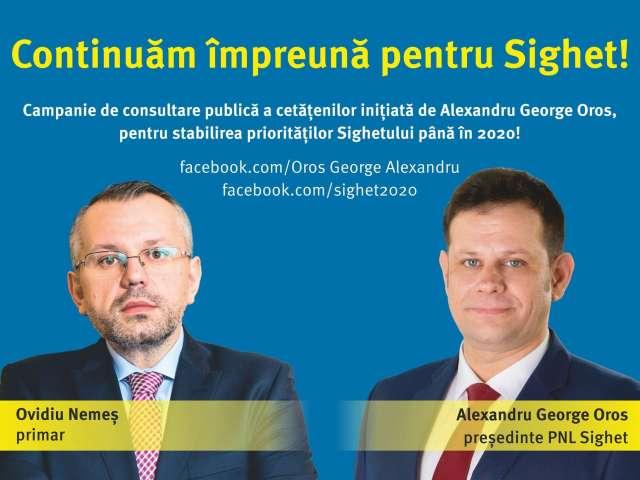 CAMPANIA DE PROSTIRE A SIGHETENILOR derulată de Nemeș, Oros & Co. - Continuăm (să furăm) împreună!