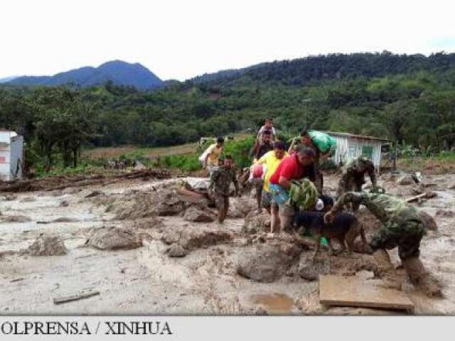 FOTO - Columbia: Bilanțul tragediei de la Mocoa s-a înrăutățit la 254 de morți, dintre care 43 de copii