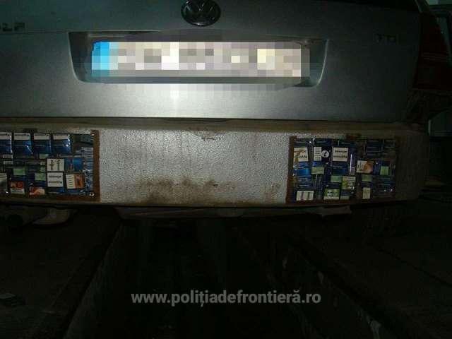 FOTO - Peste 17.000 de pachete cu țigări, confiscate la frontiera de nord