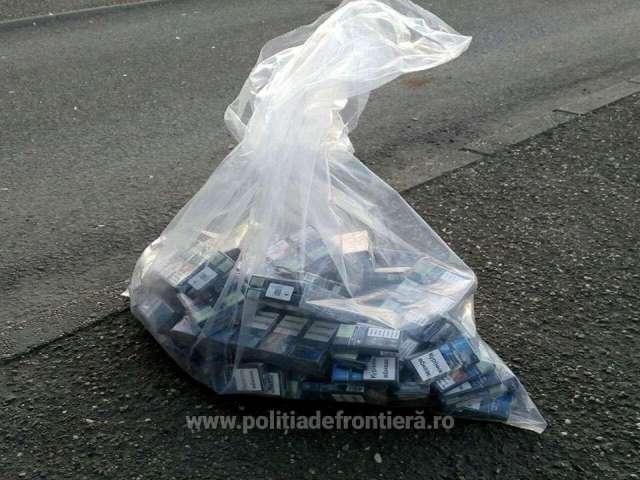 FOTO&VIDEO - Țigări de contrabandă ascunse în mai multe autoturisme special modificate, confiscate la frontiera de nord